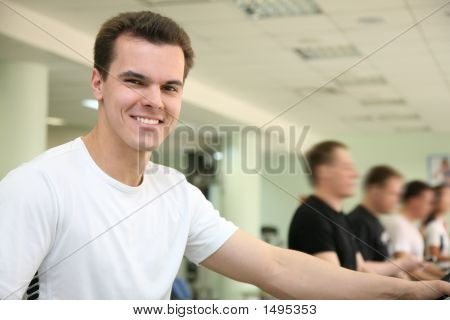 Man In Sports Club