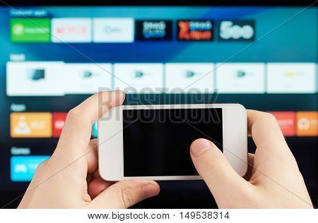 Using Smartphones As Tv Remote