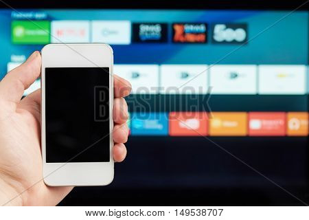 Connection Of Phone And Smart Tv
