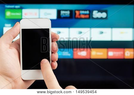 Using Smartphone As Remote Control