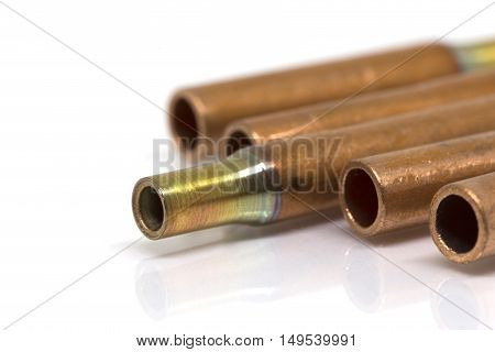 Copper Connection Pipe Of Air-conditioner Or Refrigerant System.