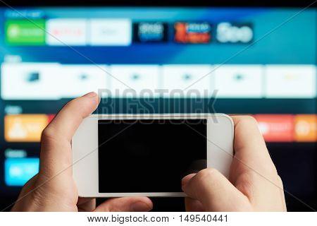Close Up Of Smartphone