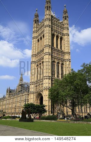 Big Ben And The Palace Of Westminster,