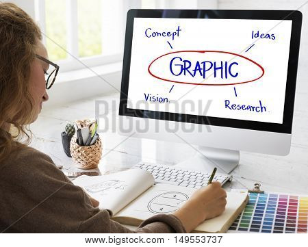 Graphic Creativity Simplicity Design Concept