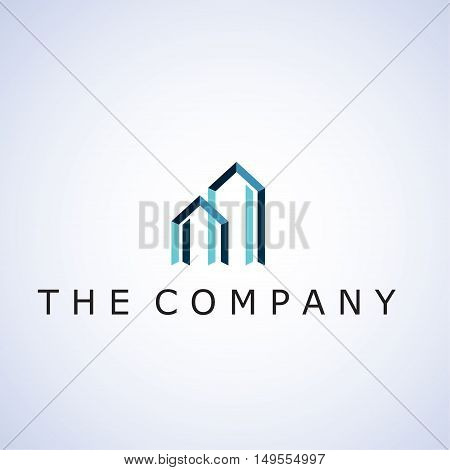 building logo ideas design vector illustration on background