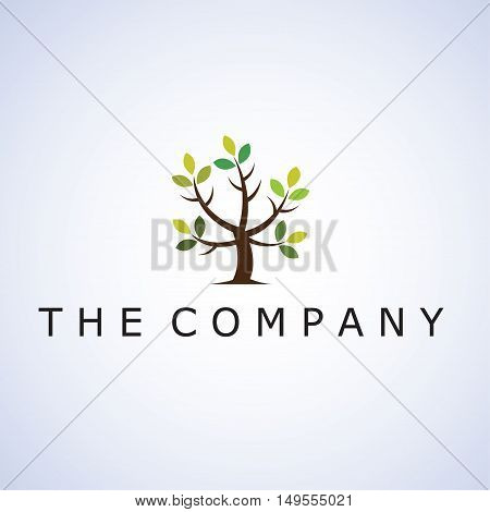 tree ideas design vector illustration on background