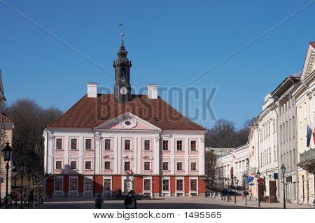 Ayuntamiento en Tartu