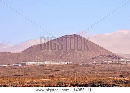 Puerto Del Carmen In Lanzarote Canary Islands Spain
