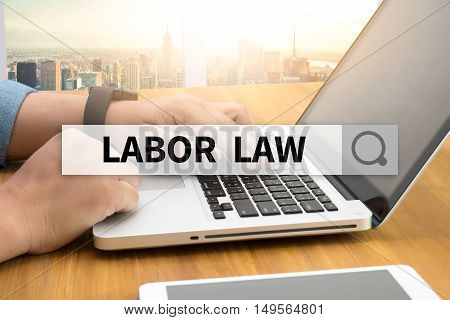 LABOR LAW SEARCH WEBSITE INTERNET SEARCHING  business man hard work
