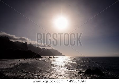 Benijo Beach On The North Of Tenerife, Spain