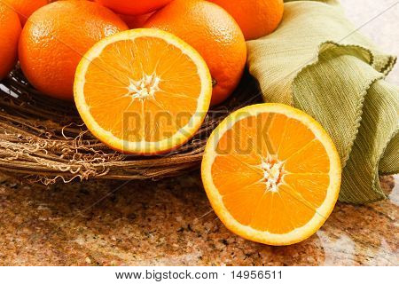 Juicy Ripe Oranges