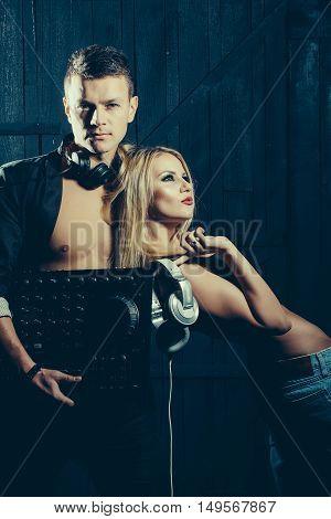 Man Dj And Sexy Girl