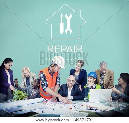 Construction Design Project Renovation Concept