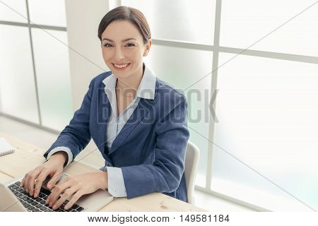 Successful Businesswoman Portrait