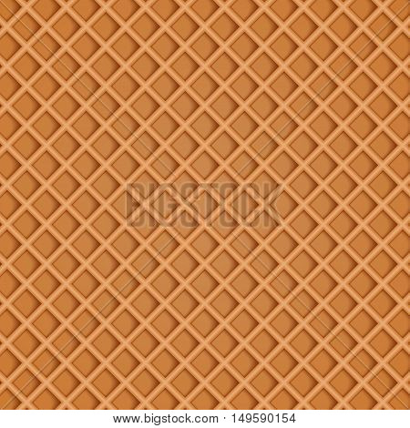 Chocolate wafer background. . vector illustration .