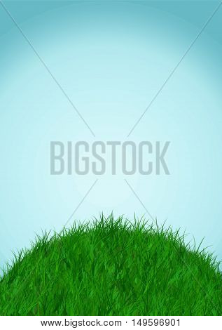 sky and ground background vector illustration earth