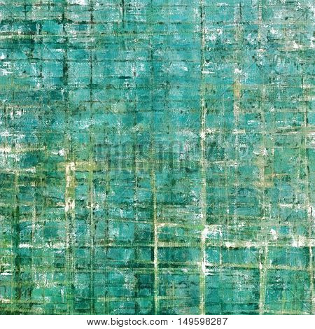 Abstract vintage background with faded grungy texture. Aged backdrop with different color patterns: yellow (beige); gray; green; blue; cyan
