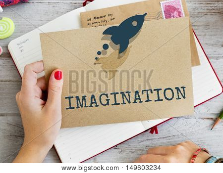 Target Strategy Imagination Inspiration Concept