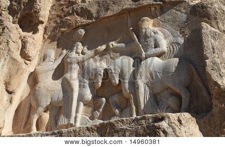 NAQSH-E ROSTAM - Grave of kings