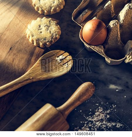 Bakery Equipment Cooking Preparation Tools Concept