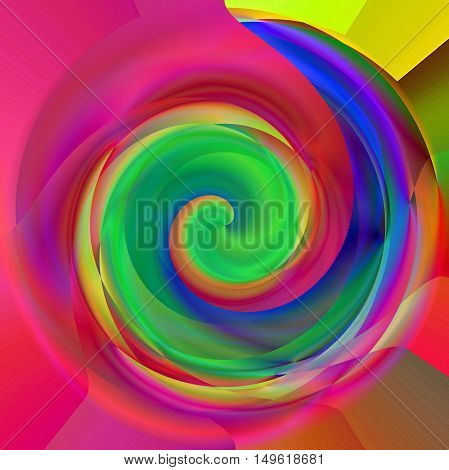 Abstract coloring background of the pastels gradient with visual lighting, pinch, twirl, shear and stained glass effects.Good for your project design