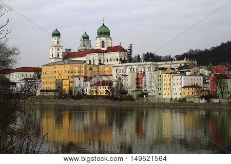Dome St.stephan On The River Inn, Passau
