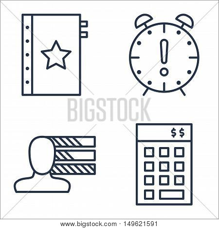 Set Of Project Management Icons On Investment, Personality, Deadline And More. Premium Quality Eps10