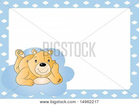 Teddy bear for baby boy