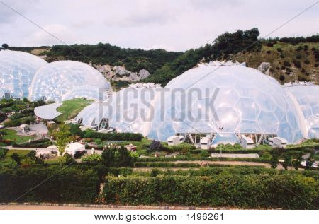 Biomas no Eden Project