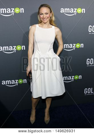 Sarah Wynter at the Los Angeles premiere of Amazon's 'Goliath' held at the London Hotel in West Hollywood, USA on September 29, 2016.