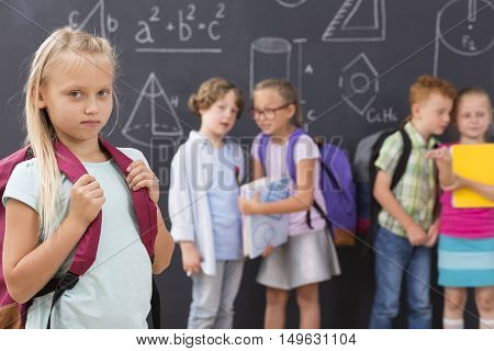 First Day At School Is Never Easy