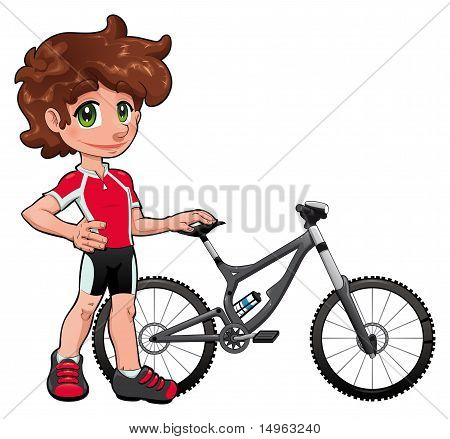 Baby Cyclist.