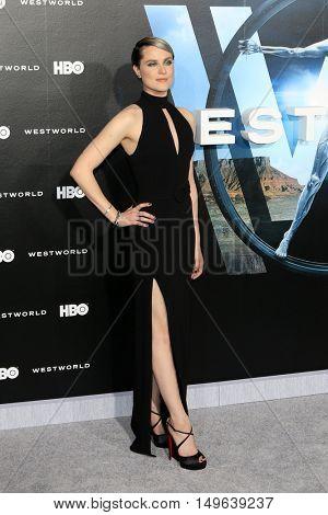LOS ANGELES - SEP 28:  Evan Rachel Wood at the HBO's