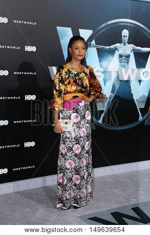 LOS ANGELES - SEP 28:  Thandie Newton at the HBO's