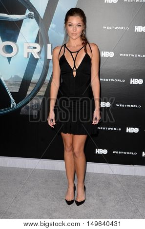LOS ANGELES - SEP 28:  Lili Simmons at the HBO's