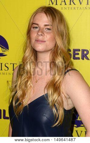 LOS ANGELES - SEP 29:  Natasha Dewhurst at the