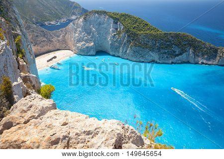 Navagio Bay And Ship Wreck Beach