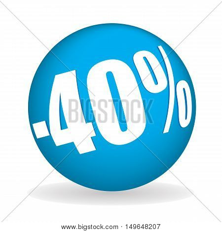 Forty Percent Off Sphere