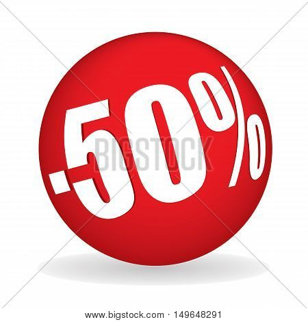 Fifty Percent Off Sphere