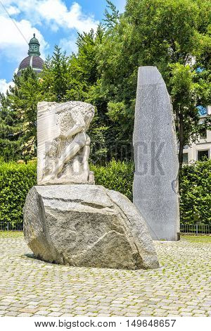 Monument Against War And Fascism, Vienna, Austria.