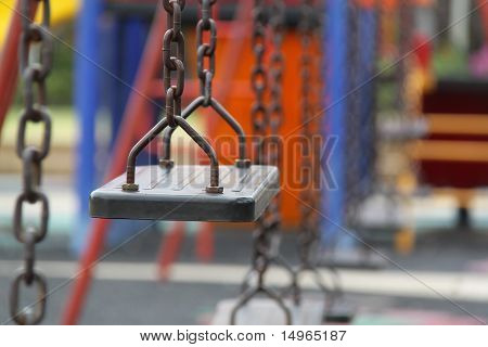 Desolate Swing Set