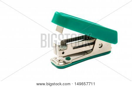 Staplers  shot, object on Isolated White Background