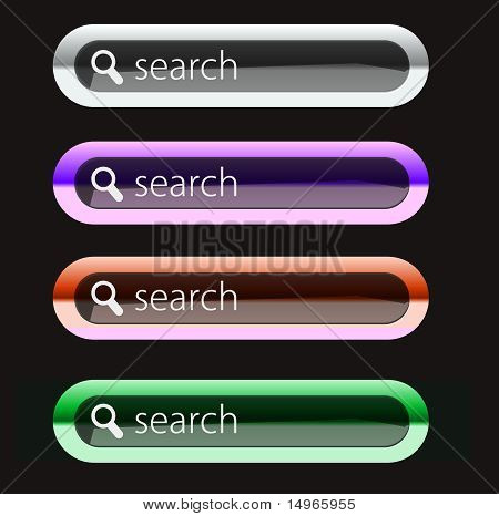 Glossy Search Icon