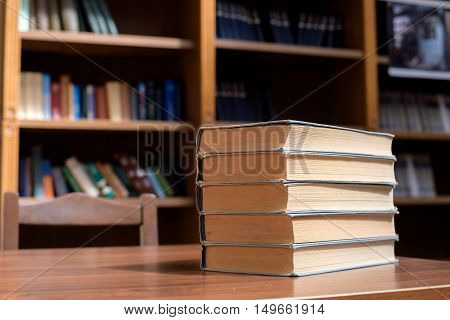 Piles Of Books