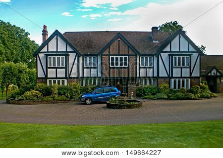A Large Estate home tudor style in the UK