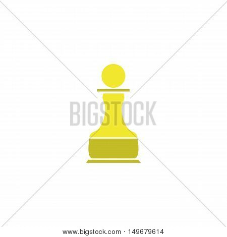 Chess Icon Vector. Flat simple color pictogram