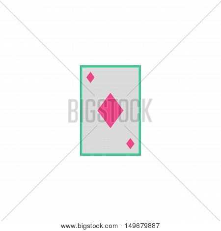 Card suit Icon Vector. Flat simple color pictogram