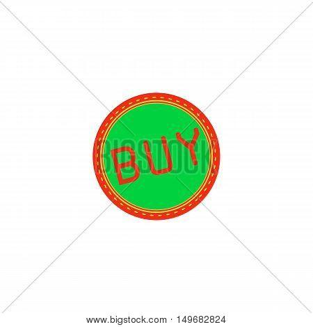 Buy Icon Vector. Flat simple color pictogram