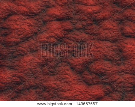 Hot magma texture. Lava surface. 3d rendering