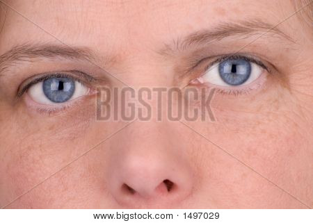 Blue Eyed Woman